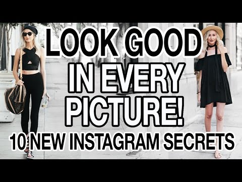 HOW TO LOOK GOOD IN EVERY PICTURE | 10 NEW INSTAGRAM SECRETS!