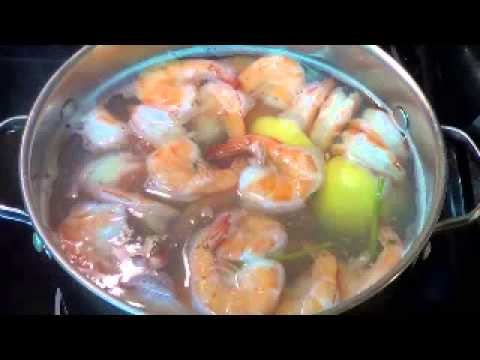 Shrimp Cocktail (How to cook shrimp cocktail 2 of 2)