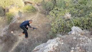 الكلبه لوسي والكلب بوب يتفادان ضربه من خنزير تدريب حقيقي وخطير مع جمال العمواسي