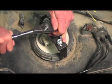 nissan fuel pump removal tool