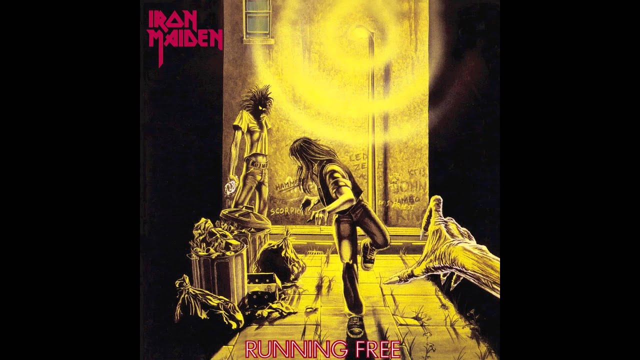Iron Maiden Running Free Burning Ambition Youtube