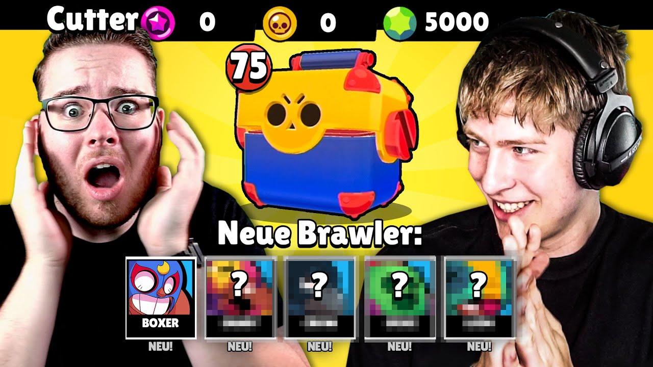 PUUKI überrascht seinen CUTTER mit 5.000 GEMS MEGA BOX OPENING! • Brawl Stars deutsch