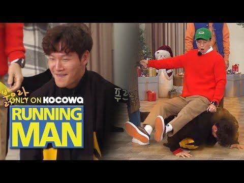 This is Kim Jong Kook's Power!! [Running Man Ep 431]