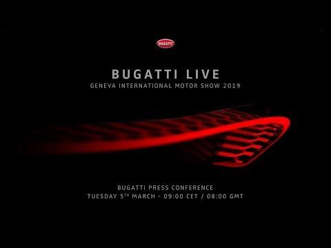 Bugatti Press Conference - Geneva International Motor Show 2019