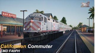 Californian Commuter : Peninsula Corridor : Train Sim World 2020 1080p60fps