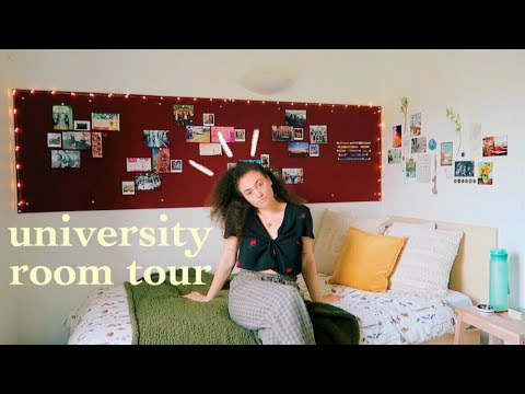 first year uni room tour 📚 university of sussex