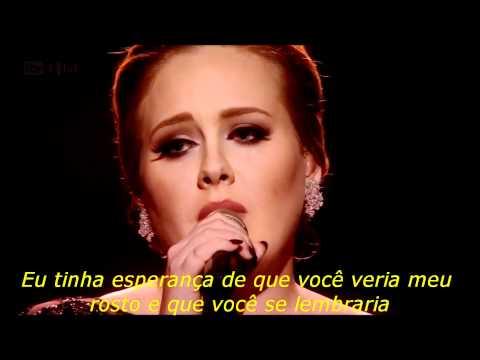 ADELE - Someone Like You (Legendado)