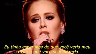 Repeat youtube video ADELE - Someone Like You (Legendado)