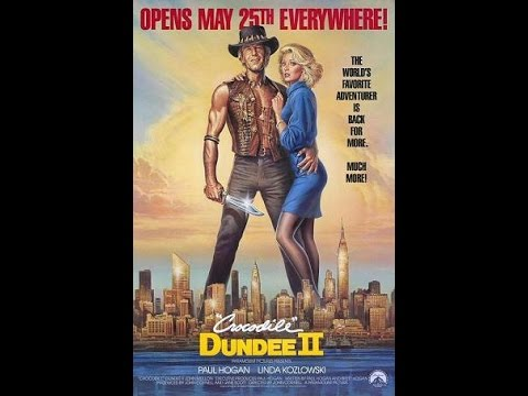 Crocodile Dundee II (1988) Movie Review poster