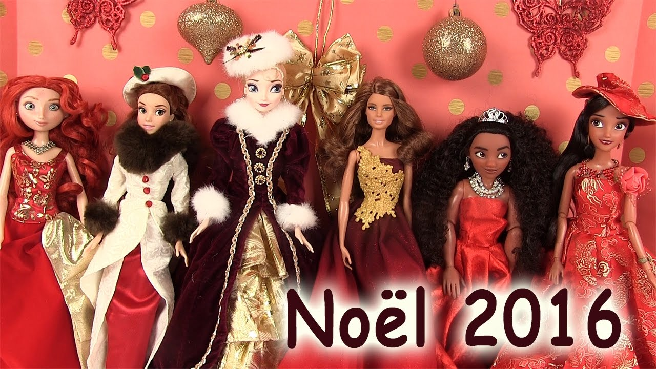 disney princesses robes de princesses poup es barbie dolls dresses no l 2016 madame r cr youtube. Black Bedroom Furniture Sets. Home Design Ideas
