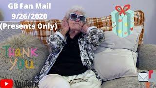GB Fan Mail 9/26/2020