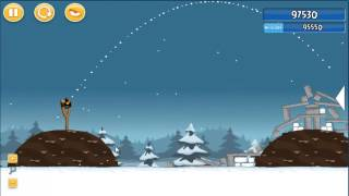 Angry Birds season´s greedings 3 estrellas parte 1-14