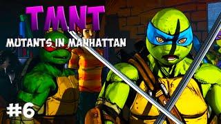 Черепашки-Ниндзя: Мутанты в Манхэттене. Прохождение #6 (TMNT: Mutants in Manhattan Gameplay 2016)