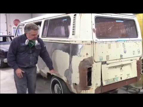 1972 Volkswagen Bus Van Restoration Work Begins, lastchanceautorestore com