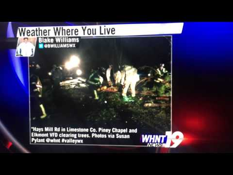 Blake Williams on WHNT NEWS 19 4/3/15