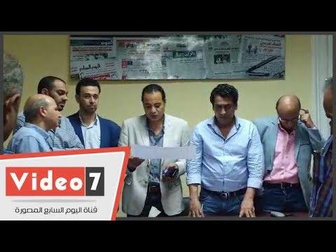 حافظ والساعاتى وسعيد أعضاء نقابة الصحفيين بالإسكندرية  - 20:54-2018 / 10 / 2