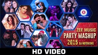 Zee Music Party Mashup - DJ Notorious | Bollywood Mashup 2015