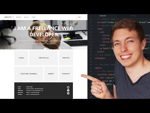 18: How To Create A Responsive Website Using HTML And CSS  | Learn HTML And CSS | HTML Tutorial