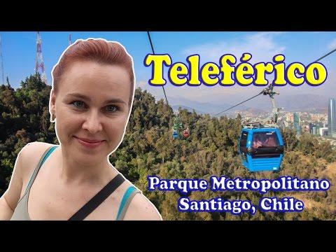 Teleférico del Parque Metropolitano de Santiago, Cerro San Cristóbal, Chile | Ioulia Nicole
