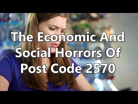 Adams/North: The Economic and Social Horrors of Postcode 2570