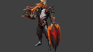 Dota 2 Dragon Knight - Ashtongue and The Knight's Repose Kinetic Gem review
