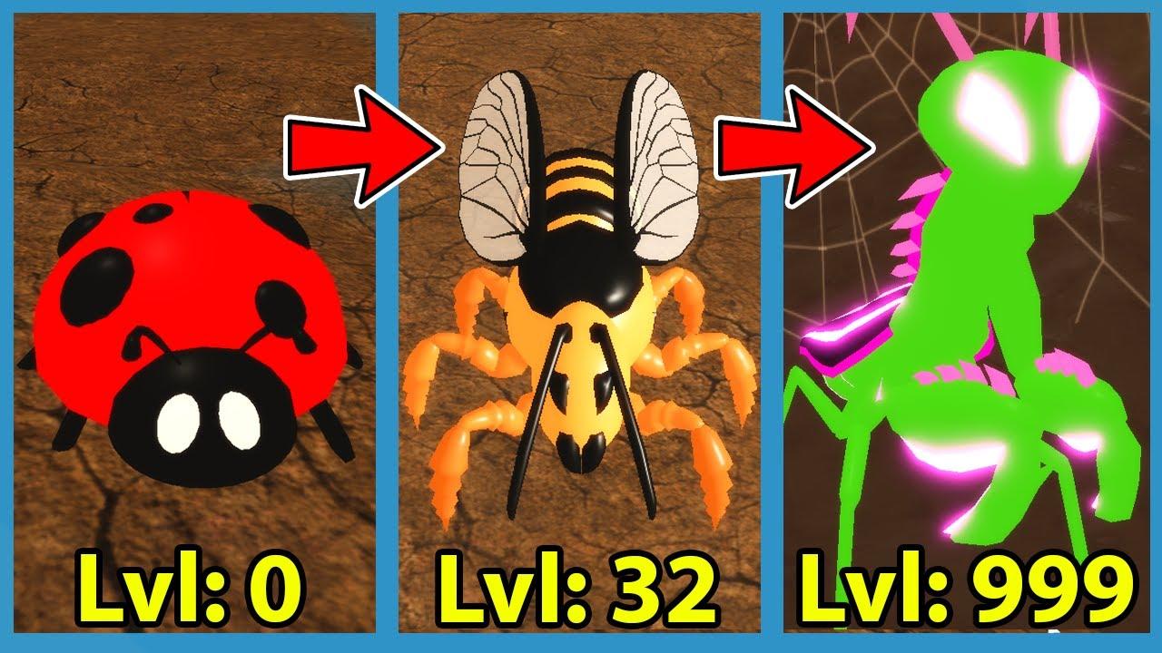 I Unlocked The MAX Level Bug In Roblox Bug Simulator