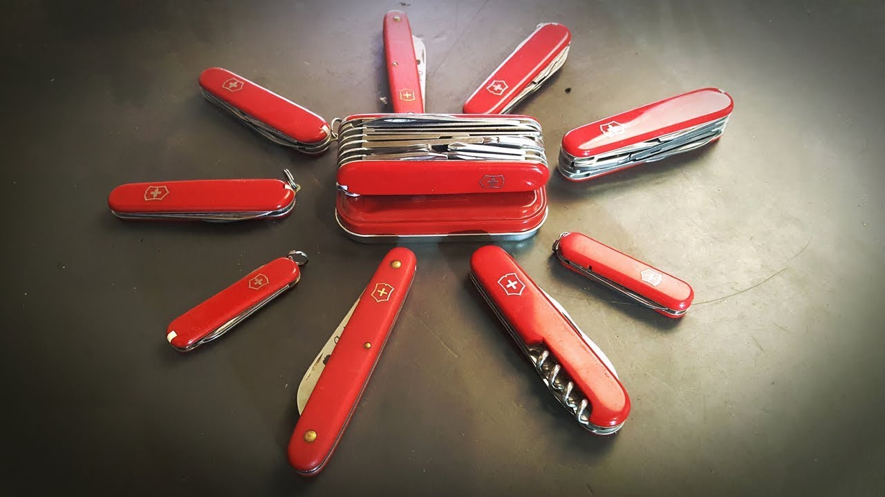 History Of Victorinox Wenger Swiss Army Knife Youtube