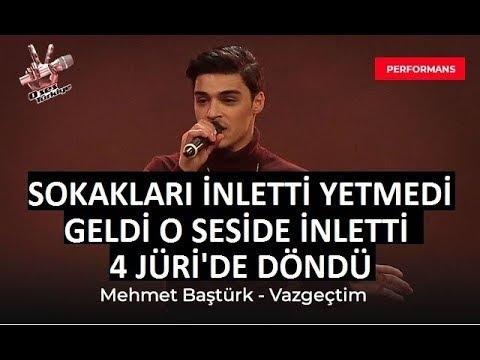 Mehmet Baştürk - Vazgeçtim | O ses Türkiye 2018