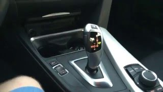 How to use the BMW steptronic transmission and select drive modes