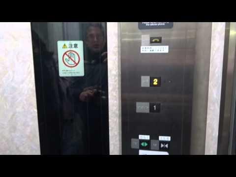 2002 Mitsubishi MRL Tr. Elevator@Tokyu Den-En-Toshi Line Miyazakidai Station, Kawasaki, Greater T