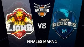 MAD LIONS E.C. VS MOVISTAR RIDERS - FINALES SUPERLIGA ORANGE - MAPA 1