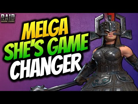 MELGA STEELGIRDLE GUIDE   A MUST FOR EVERY PLAYER   TOP TIER EPIC RAID SHADOW LEGENDS