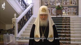 Orthodox Patriarch of Moscow votes for the anti-liberal changes in Russia's Constitution