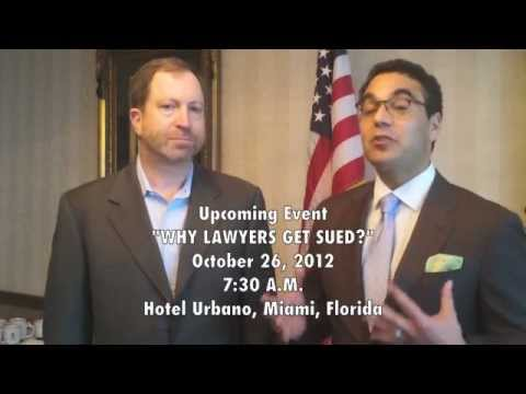 Spencer's Attorney Breakfast Club interview with Warren Trazenfeld sheds light on legal malpractice-a way for lawyers to avoid getting sued.   The Attorney Breakfast Club, founded in 2010, is an organization dedicated to helping lawyers build their practices by utilizing innovative networking, marketing and technology.