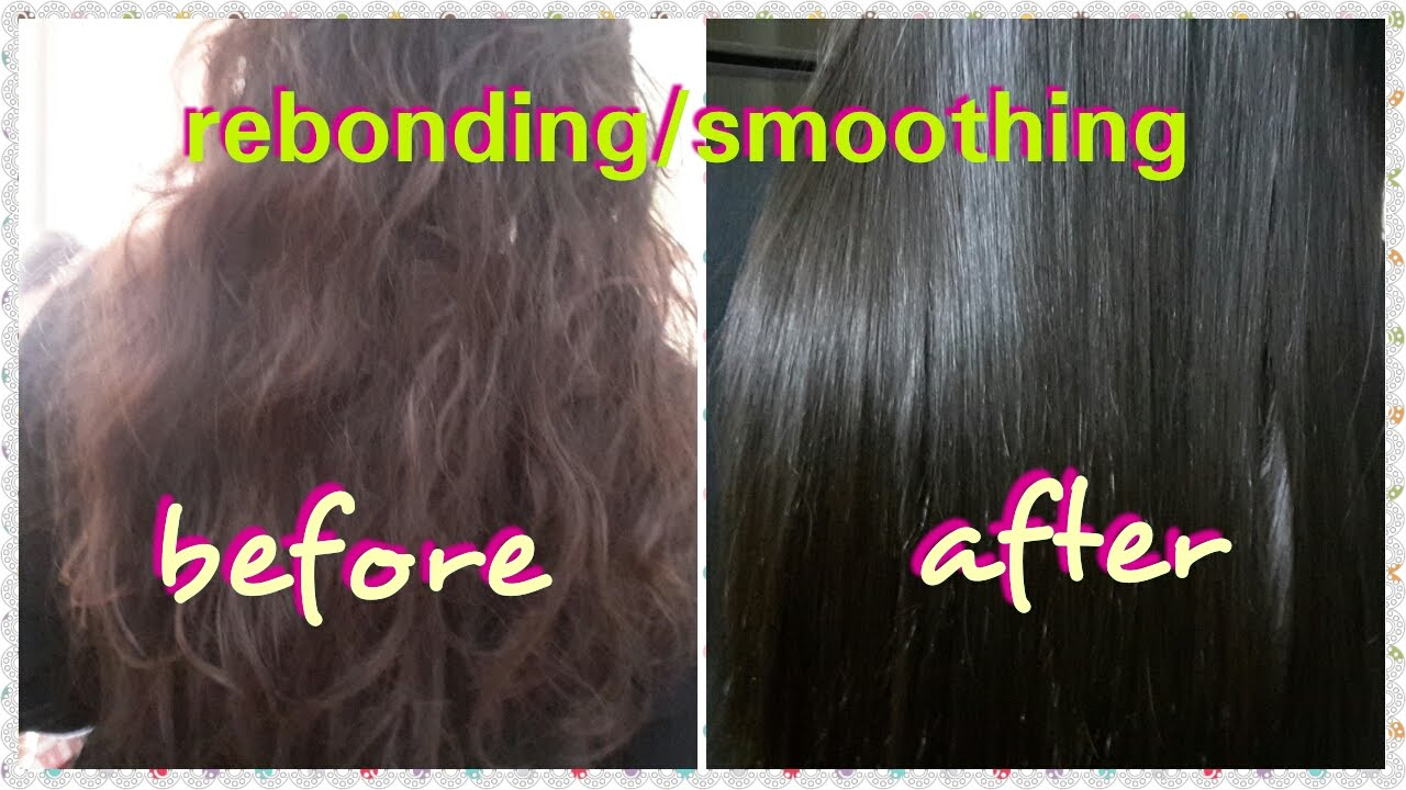 Rebonding Smoothing Step By Step Permanent Hair