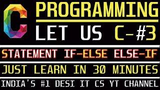 C Programming Tutorial | Learn C programming | C language- INFORMATION ASSISTANT PART-3