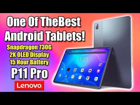 One Of The Best Android Tablets Ever! Lenovo P11 Pro Review