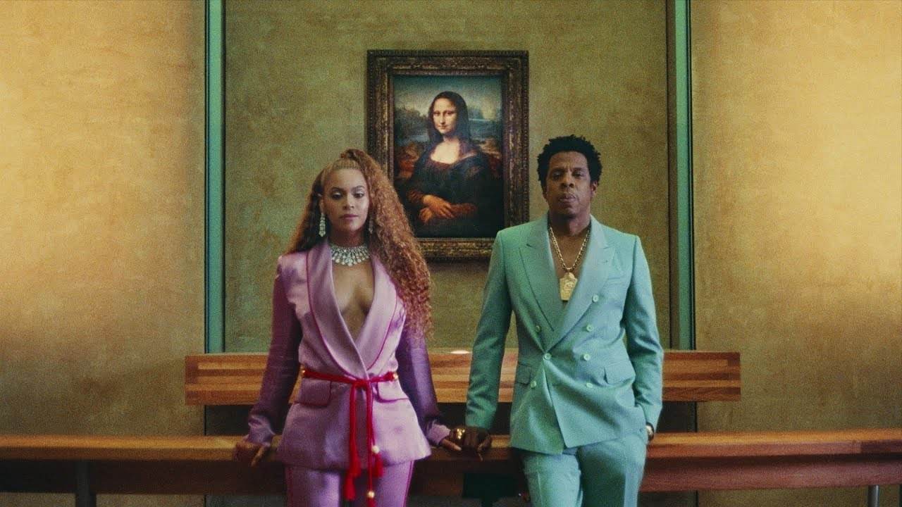 Beyonce Ft. Jay-Z APES**T - THE CARTERS Video Clip