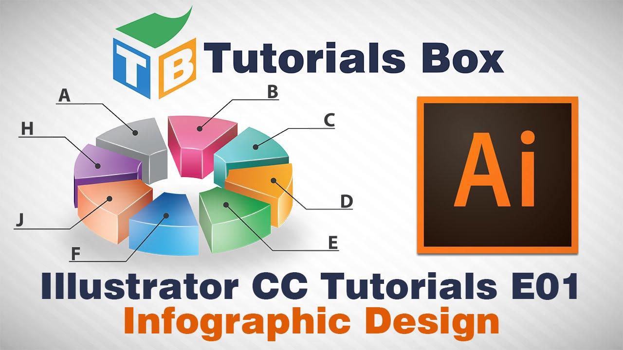 Illustrator CC Tutorials | E01 | Infographic Design - YouTube