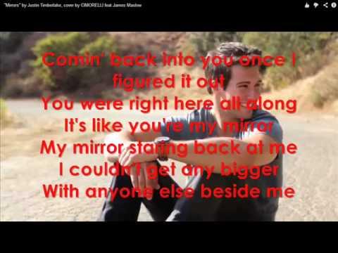 Cimorelli feat. James Maslow - Mirrors (Cover - Lyrics)