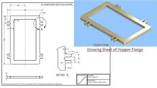 Hopper Flange    SolidWorks Tutorial