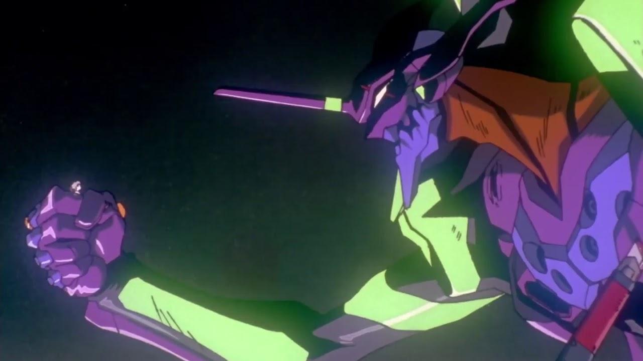 Shinji kills Kaworu [full scene] - YouTube