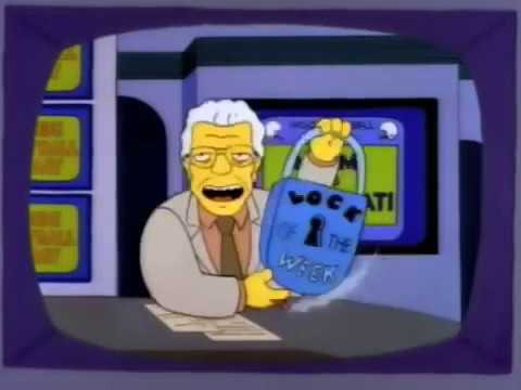 Simpsons Smooth Jimmy Apollo Lock Of The Week - YouTube