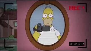 Los Simpsons - Paranormal Activity (Castellano, España)
