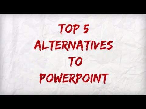 TOP 5 Powerpoint Alternatives in 2016 !