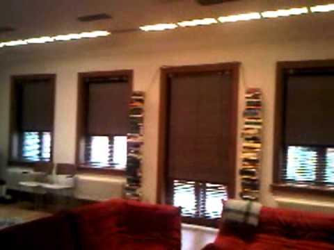 bushey blinds, London penthouse electric roller blinds.avi