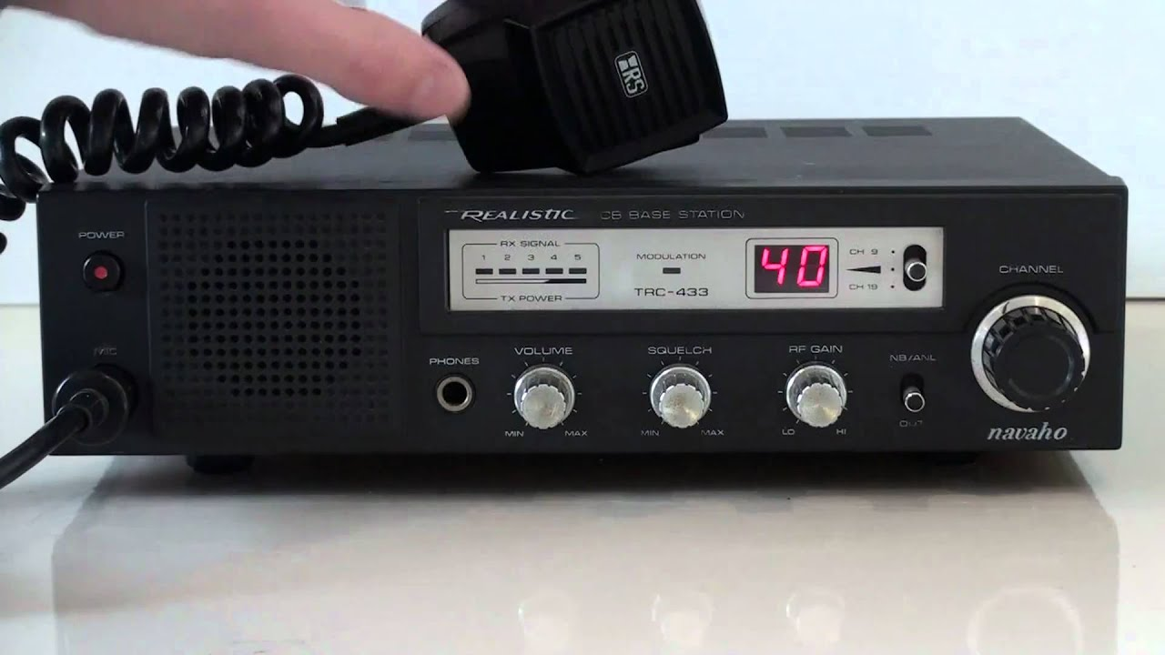Realistic Navaho Am Base Station Cb Radio