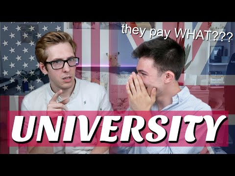 american vs british university - what's the difference??? (w