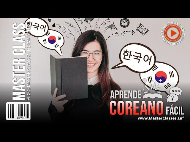 Aprende coreano fácil - Metodología práctica.