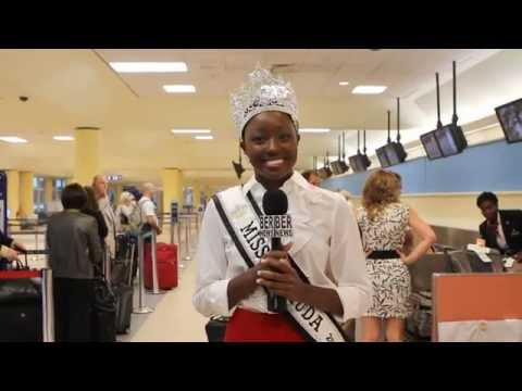 Miss Bermuda Goes To Miss World October 18 2011
